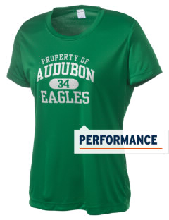 Audubon Junior High School Eagles Women's Competitor Performance T-Shirt