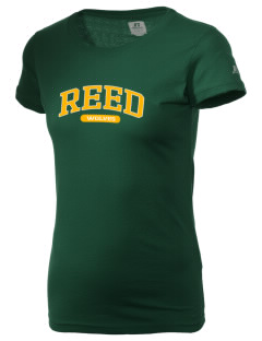 Reed Middle School Wolves  Russell Women's Campus T-Shirt