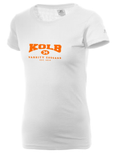 Kolb Middle School Cougars  Russell Women's Campus T-Shirt