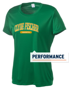 Clyde Fischer Middle School Saints Women's Competitor Performance T-Shirt