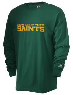 Clyde Fischer Middle School Saints  Russell Men's Long Sleeve T-Shirt