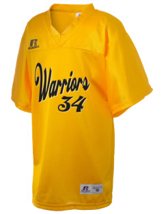 Golden State Middle School Warriors Russell Kid's Replica Football Jersey