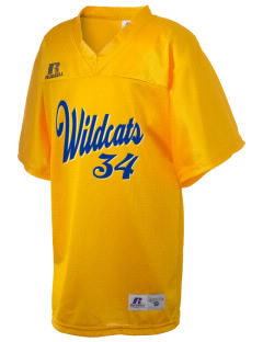 Seaview Elementary School Wildcats Russell Kid's Replica Football Jersey