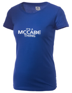 McCabe Elementary School Crusaders  Russell Women's Campus T-Shirt