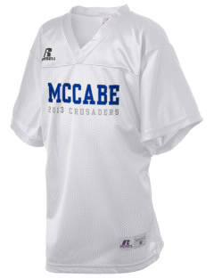 McCabe Elementary School Crusaders Russell Kid's Replica Football Jersey