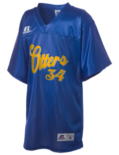 J W Oakley Primary School Otters Russell Kid's Replica Football Jersey