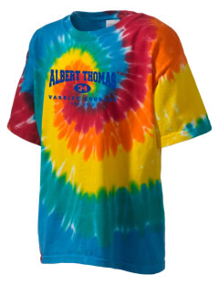 Albert Thomas Middle School Cougars Kid's Tie-Dye T-Shirt