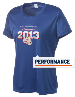 Albert Thomas Middle School Cougars Women's Competitor Performance T-Shirt