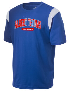Albert Thomas Middle School Cougars Holloway Men's Rush T-Shirt
