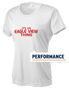 Eagle View Elementary School Eagles Women's Competitor Performance T-Shirt