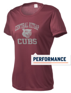 Central Kitsap Junior High School Cubs Women's Competitor Performance T-Shirt