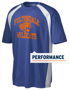 Fultondale High School Wildcats Men's Dry Zone Colorblock T-Shirt