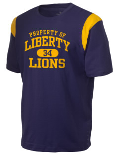 Liberty High School Lions Holloway Men's Rush T-Shirt
