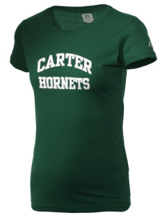 Carter High School Hornets  Russell Women's Campus T-Shirt