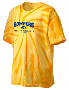Gompers Secondary School Wildcats Kid's Tie-Dye T-Shirt