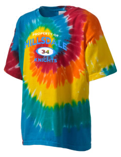 Hillsdale High School Knights Kid's Tie-Dye T-Shirt