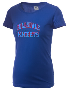 Hillsdale High School Knights  Russell Women's Campus T-Shirt