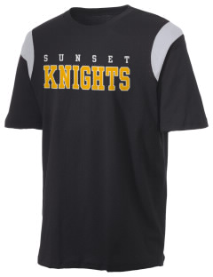 Miami Sunset High School Knights Holloway Men's Rush T-Shirt