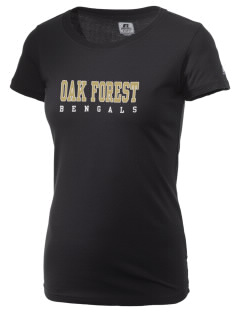 Oak Forest High School Bengals  Russell Women's Campus T-Shirt