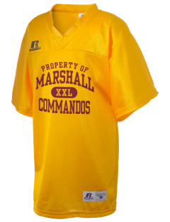 Marshall High School Commandos Russell Kid's Replica Football Jersey