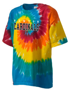 Newton Senior High School Cardinals Kid's Tie-Dye T-Shirt
