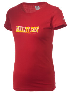 Bullitt East High School Chargers  Russell Women's Campus T-Shirt