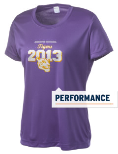 Jeanerette High School Tigers Women's Competitor Performance T-Shirt