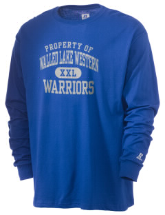 Walled Lake Western High School Warriors  Russell Men's Long Sleeve T-Shirt
