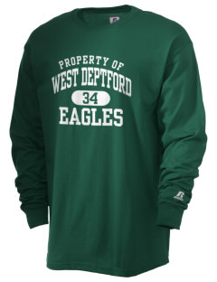 West Deptford High School Eagles  Russell Men's Long Sleeve T-Shirt