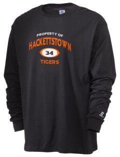 Hackettstown High School Tigers  Russell Men's Long Sleeve T-Shirt