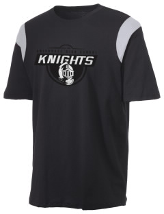Uniondale High School Knights Holloway Men's Rush T-Shirt