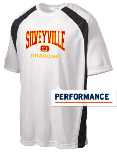 Silveyville Primary School Dragons Men's Dry Zone Colorblock T-Shirt