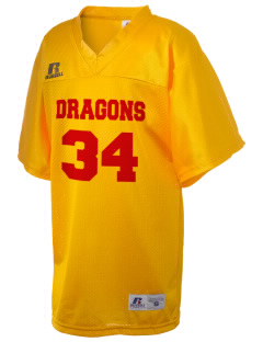 Silveyville Primary School Dragons Russell Kid's Replica Football Jersey