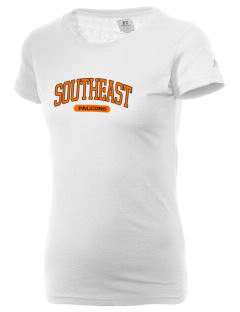 Southeast Guilford High School Falcons  Russell Women's Campus T-Shirt