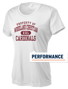 Woodland Christian School Cardinals Women's Competitor Performance T-Shirt