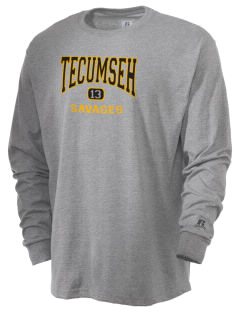 Tecumseh High School Savages  Russell Men's Long Sleeve T-Shirt