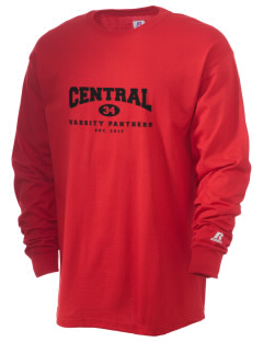 Central High School Panthers  Russell Men's Long Sleeve T-Shirt