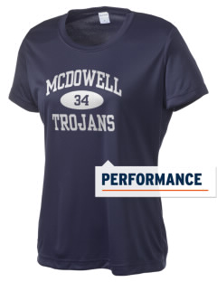 McDowell High School Trojans Women's Competitor Performance T-Shirt
