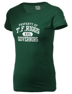 T.F. Riggs High School Governors  Russell Women's Campus T-Shirt