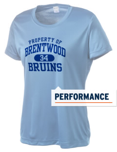 Brentwood High School Bruins Women's Competitor Performance T-Shirt
