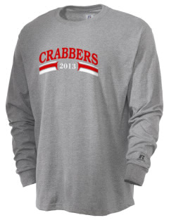Hampton High School Crabbers  Russell Men's Long Sleeve T-Shirt