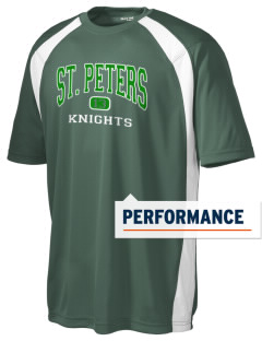Saint Peters School Knights Men's Dry Zone Colorblock T-Shirt