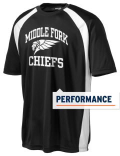 Middle Fork Elementary School Chiefs Men's Dry Zone Colorblock T-Shirt