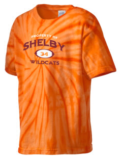 Shelby Elementary School Wildcats Kid's Tie-Dye T-Shirt
