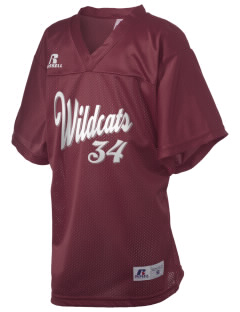 Shelby Elementary School Wildcats Russell Kid's Replica Football Jersey