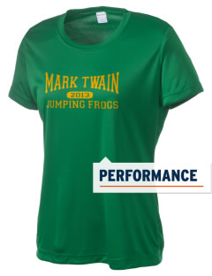 Mark Twain Elementary School Jumping Frogs Women's Competitor Performance T-Shirt