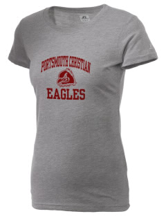 Portsmouth Christian Academy Eagles  Russell Women's Campus T-Shirt