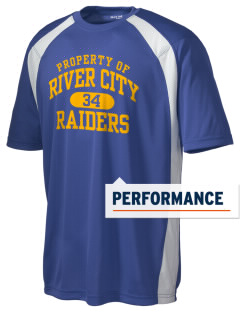River City High School Raiders Men's Dry Zone Colorblock T-Shirt