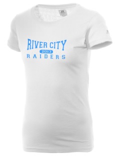 River City High School Raiders  Russell Women's Campus T-Shirt