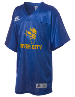 River City High School Raiders Russell Kid's Replica Football Jersey